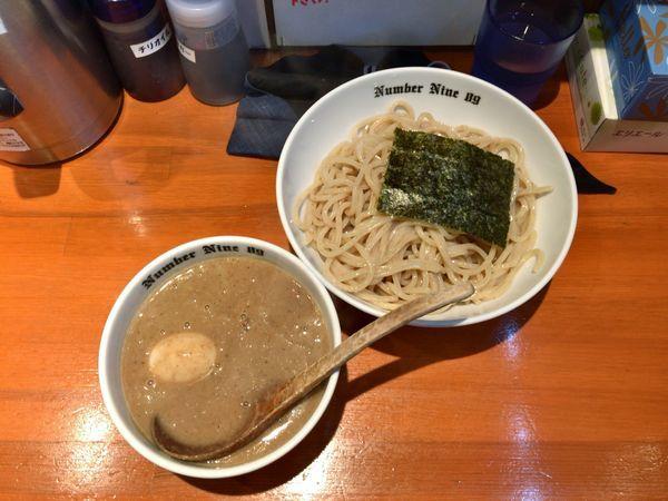 「濃厚つけめん+煮干し」@麺Dining Number Nine 09の写真