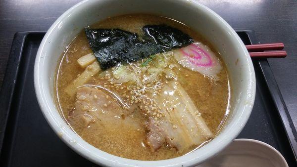 「醤油ラーメン」@らーめん 山頭火 旭川本店の写真