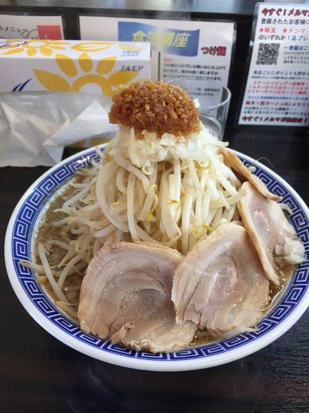 「角ふじ麺かつお、大盛りこぶたトッピング」@山勝 角ふじ 金沢店の写真