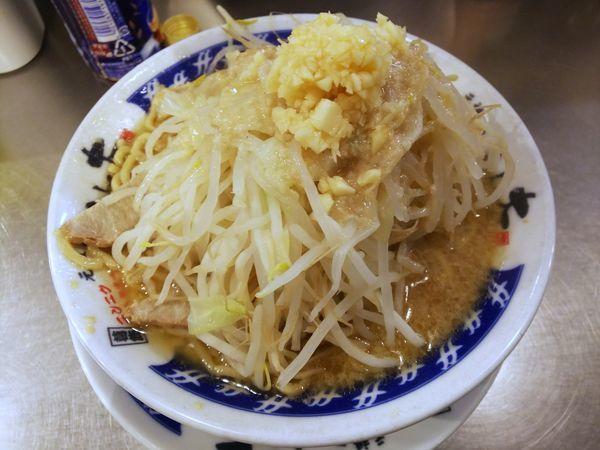 「塩らーめん ヤサイニンニクアブラ 700円」@らーめん大 松戸店の写真