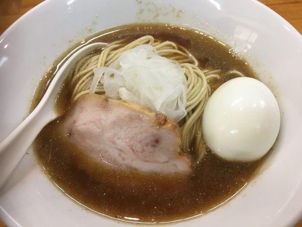 「中華ソバ+味玉+和え玉」@煮干中華ソバ イチカワの写真