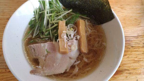 「醤油ラーメン」@我流麺家~JIN~の写真