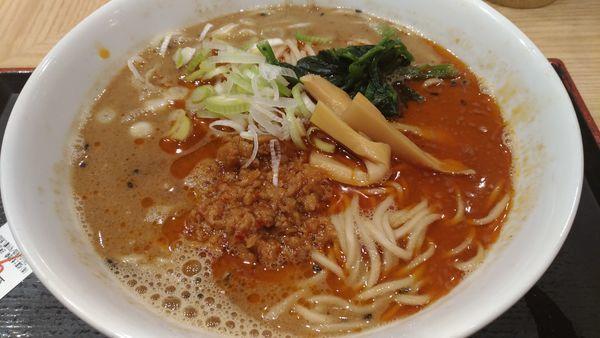 「担々麺」@舎鈴 田町駅前店の写真