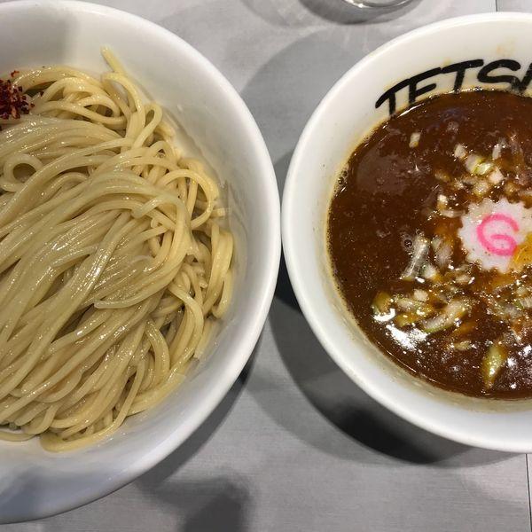 「辛つけめん」@つけめん102 大宮店の写真