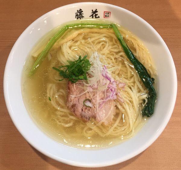 「塩らぁ麺780円」@支那蕎麦屋 藤花の写真