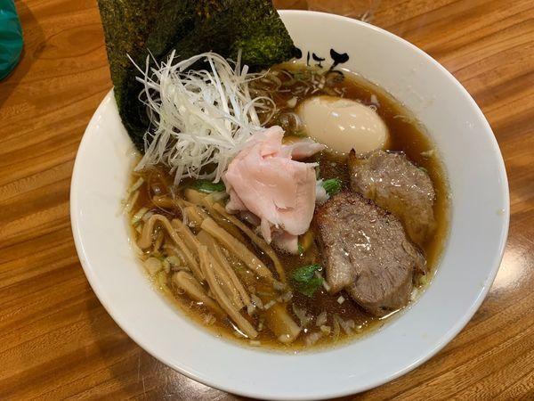 「特選醤油らぁめん1050円」@日本橋麺処 こはるの写真