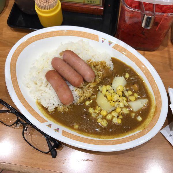 「ジャーマンカレー」@カレーショップ C&C 新宿本店の写真