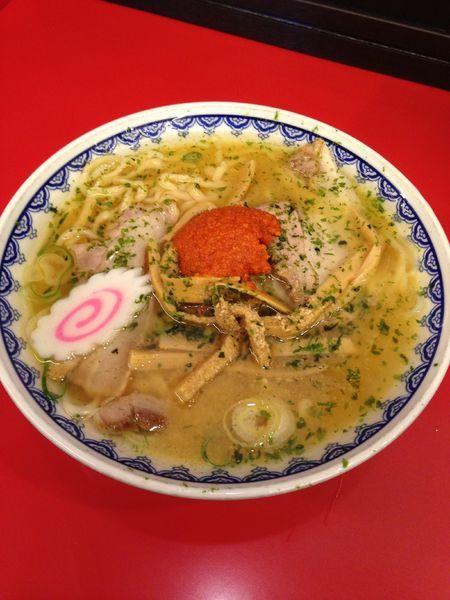 「赤湯からみそラーメン」@龍上海 赤湯本店の写真