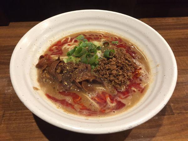 「金ゴマ立石担担麺【夜限定】辛さ普通」@立石担担麺 火のきの写真