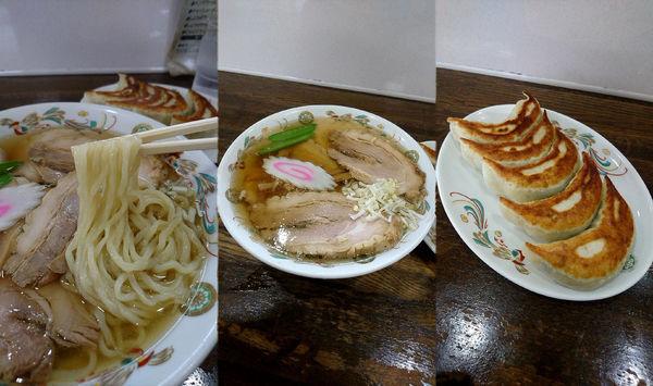 「『チャーシューメン+餃子(¥850+450)』」@匠屋の写真
