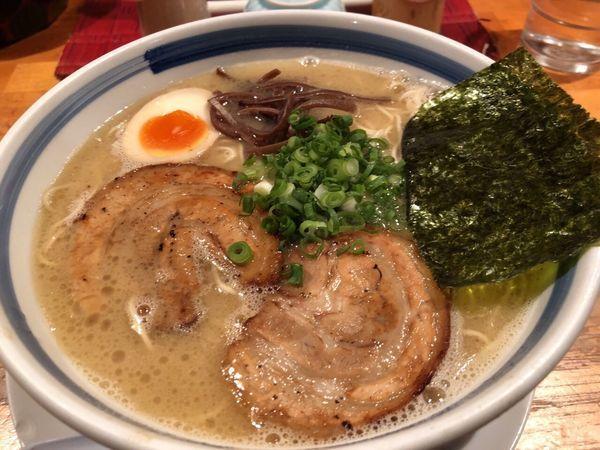 「九州豚骨ラーメン」@麺屋 大谷の写真