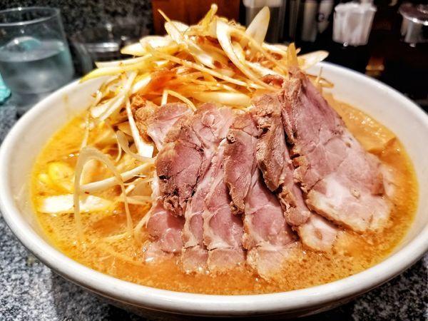 「ネギ味噌チャーシュー」@麺ロード 青葉台店の写真