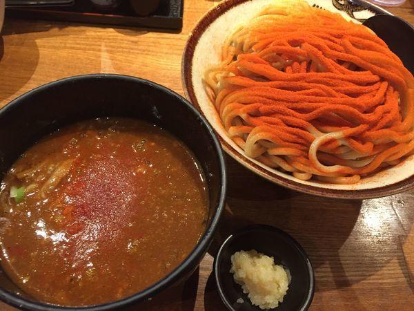 「大辛つけ麺(大盛)¥900+生ビール¥500」@R&Bの写真