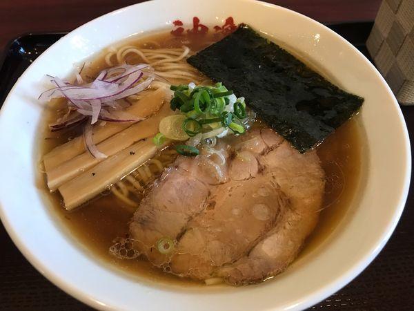 「魚貝鶏そば  750円」@麺奏 神楽の写真