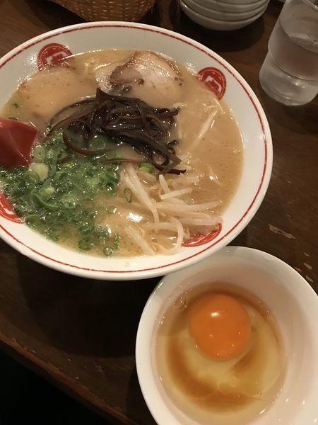 「ラーメン 700円」@ラーメン 唐そば 渋谷2丁目店の写真