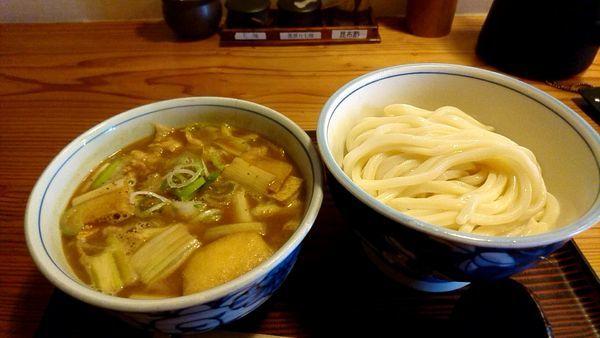 「カレー肉汁うどん(豚肉)880円」@カドケン (KADOKEN)の写真