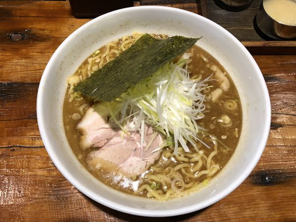 「濃厚魚介ラーメン 750円」@麺や天鳳 高円寺店の写真