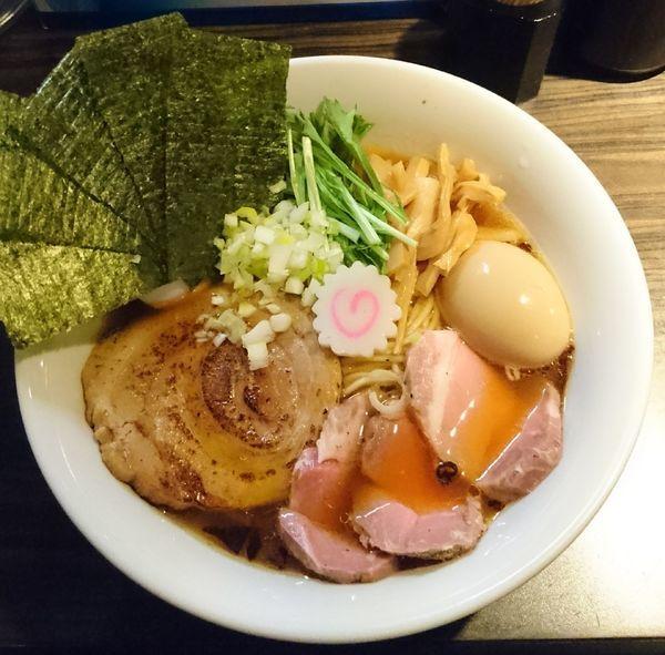 「鶏旨味特製ら〜めん」@麺屋 ほたるの写真