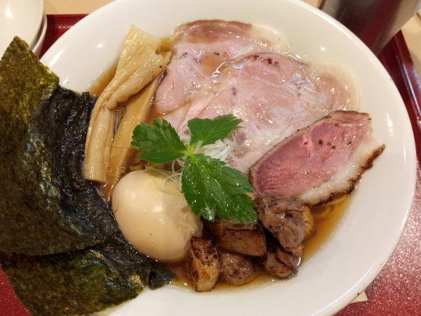 「特製紀州鴨そば」@燃えよ麺助の写真