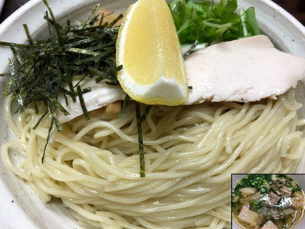 「淡麗細つけ麺」@丸直の写真