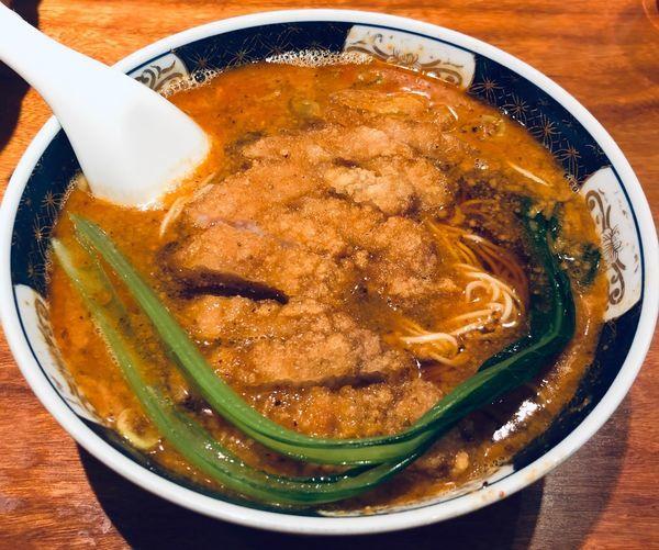 「ぱいこうだんだんめん(固め¥1000)」@支那麺 はしご 銀座四丁目店の写真