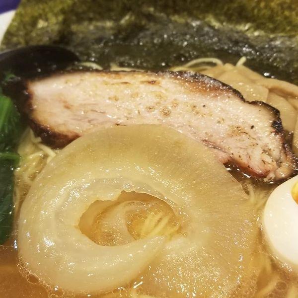 「フカヒレラーメン1500円」@三線麺屋 本店の写真