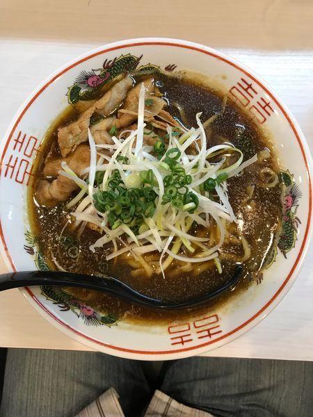 「カレー肉ラーメン 750円」@中華そば まるはの写真