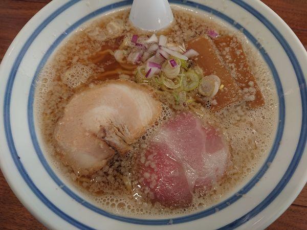 「背脂煮干し(細)」@麺屋 わかなの写真