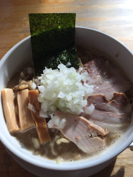 「煮干どろそば(並)800円」@煮干そば とみ田の写真
