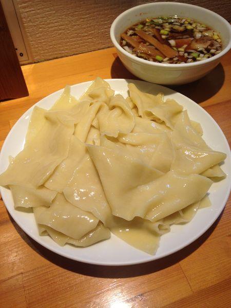 「つけ麺(凄平麺)830円」@らぁめん りきどうの写真