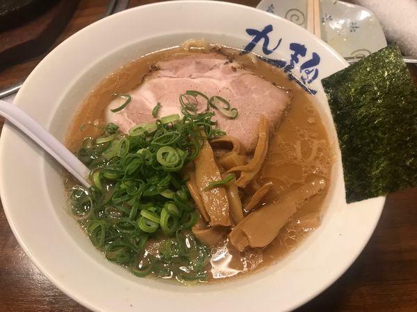 「九州醤油とんこつ麺 767円」@九一麺 つきみ野店の写真