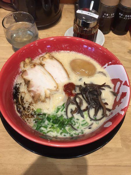 「味付煮玉子牛じゃんラーメン ¥853」@ラーメン まこと屋 厚木山際店の写真