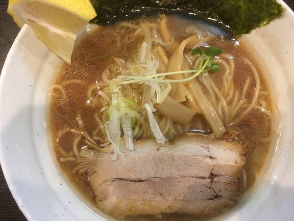 「【限定】鯛ラーメン(醤油)880円」@拉麺 ほそやの写真