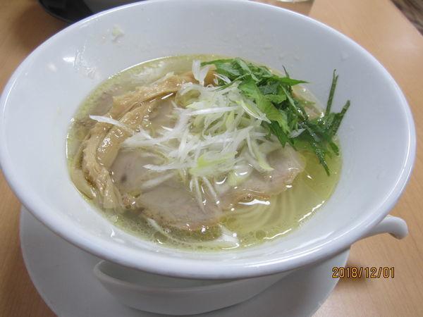 「鶏塩700円」@麺蔵 あつおの写真