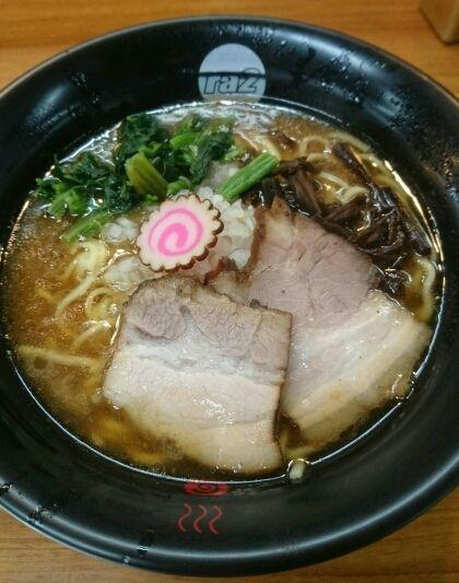 「濃厚黒拉+海苔まし」@千葉拉麺倶楽部 拉通(ra2)の写真