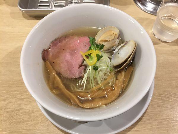 「蛤塩」@麺屋壱心の写真