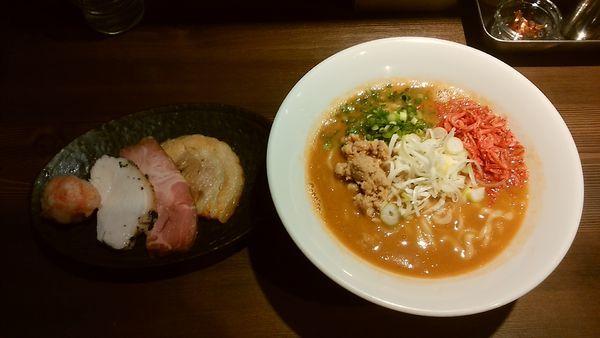 「海老味噌そば」@つけ麺 一燈の写真