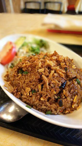 「黒チャーハン」@アジアン厨房 菜宴の写真