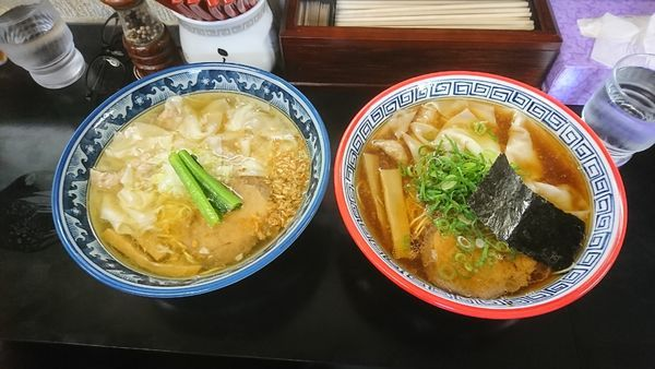 「ワンタンメン」@麺処 ら塾の写真