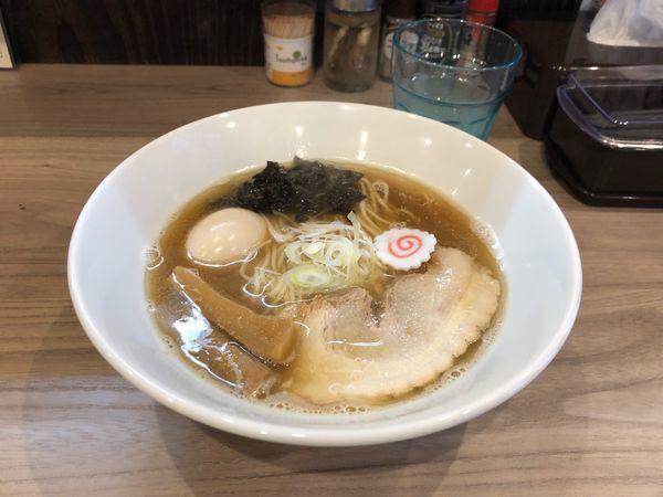 「味玉 中華そば  780円」@煮干乃宴の写真