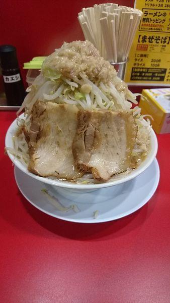 「ラーメン小野菜ダブル」@ラーメン 豚珍の写真