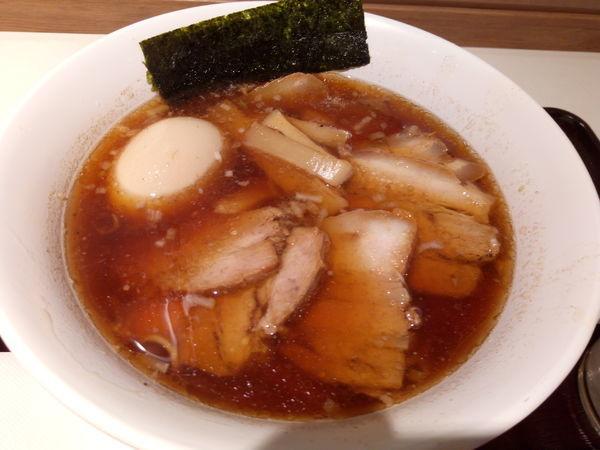 「特製中華そば」@カドヤ食堂 阪神梅田店の写真