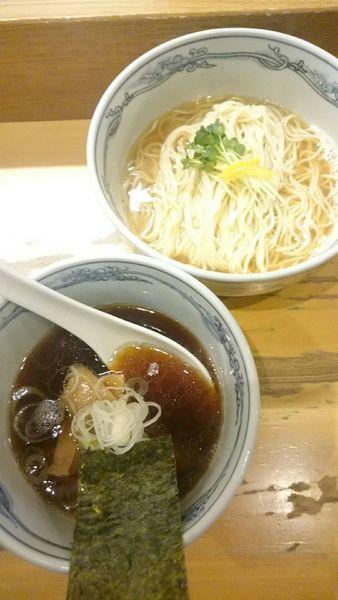 「釜揚醤油つけ麺   850円」@らーめん いまるやの写真