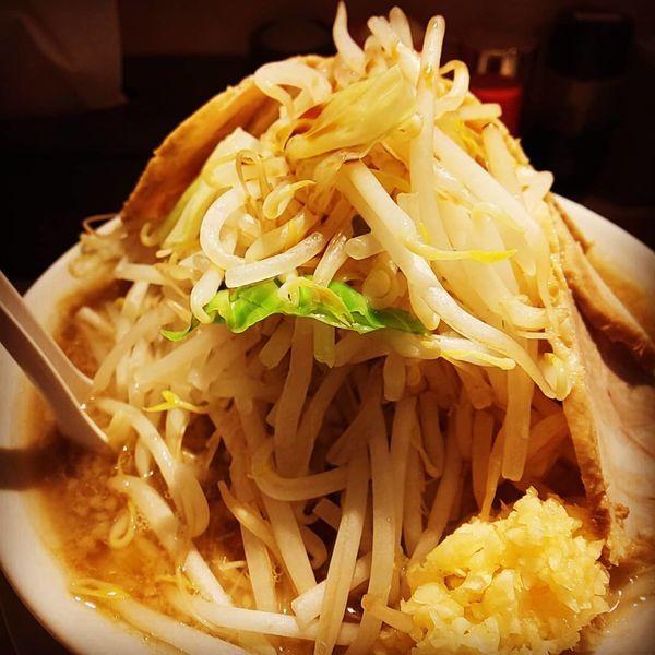 「豚麺中盛(1,000円)」@麺屋 三郎の写真
