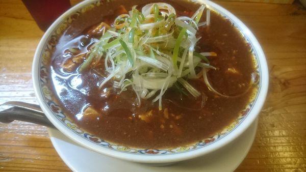 「辛っとろ麻婆麺」@辛っとろ麻婆麺 あかずきんの写真