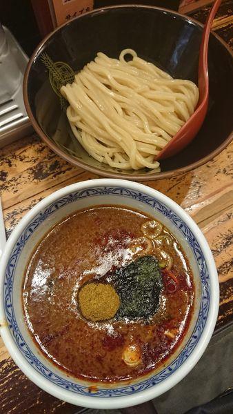 「灼熱」@つけ麺専門店 三田製麺所 池袋西口店の写真