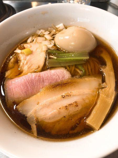 「特製鰹醤油らぁめん ¥990」@Bonito Soup Noodle RAIKの写真