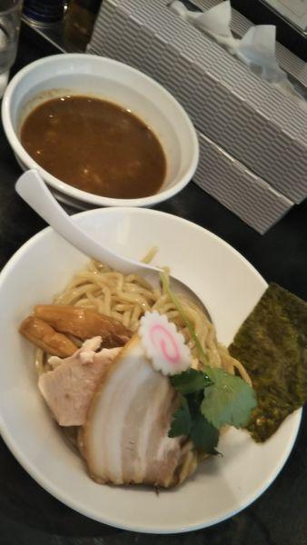 「濃厚煮干つけ麺」@つけ麺 弐☆゛屋の写真