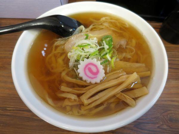 「ラーメン 600円 ※麺硬め」@麺屋まさと 佐野支店の写真