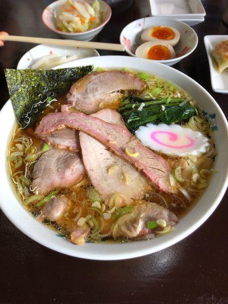 「チャーシューワンタン麺+味玉」@手打ち中華 よしだの写真